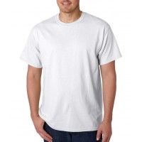 SECONDARY WHITE T-SHIRT ROUND COLLAR- SHORT SLEEVES