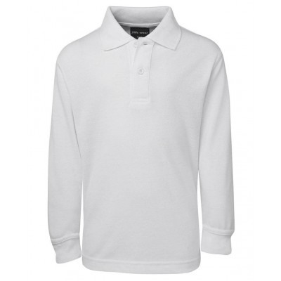 PRIMARY SCHOOL WHITE COLLAR T-SHIRT - LONG SLEEVE