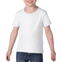 PRIMARY WHITE T-SHIRT ROUND COLLAR- SHORT SLEEVES