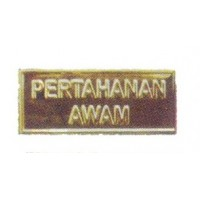 KPA SHOULDER METAL BADGE