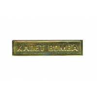 KADET BOMBA METAL SHOULDER BADGE