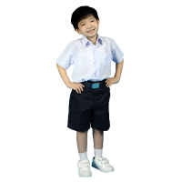 PRIMARY SCHOOL BOY WHITE SHIRT - WRINKLE-FREE