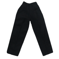 NON WRINKLE-FREE LONG PANTS - NAVY BLUE