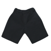 NON WRINKLE-FREE NAVY BLUE SCHOOL PANTS - SHORT