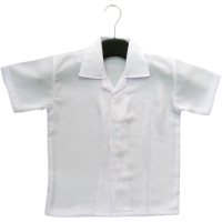 PRIMARY SCHOOL WHITE SHIRT SHORT SLEEVE (GIRLS) - WRINKLE-FREE