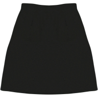 SECONDARY SCHOOL HALF SKIRT (GIRLS) - BLACK