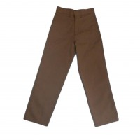SECONDARY SCHOOL LONG PANTS - BROWN