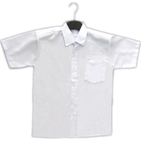 SECONDARY SCHOOL WHITE SHIRT SHORT SLEEVE (BOYS) - CLASSIC